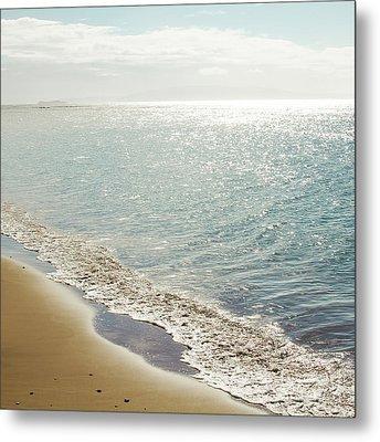 Beauty And The Beach Metal Print by Sharon Mau