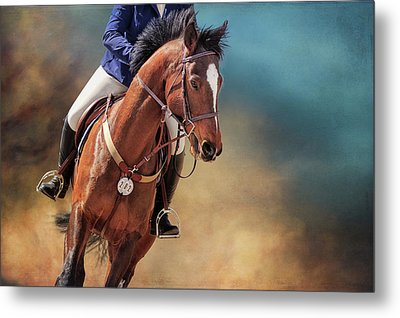 Metal Print featuring the photograph Beauty In The Dust by Debby Herold