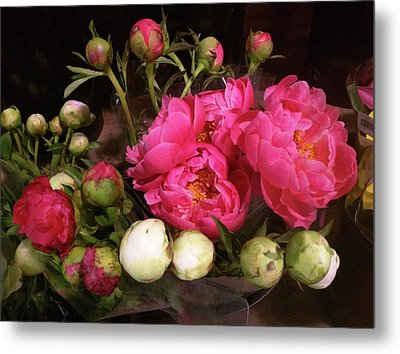 Beauty In The Whole Foods Flower Dept. Metal Print