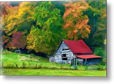 Beauty Of The Leaves Metal Print by Bobby Blanton