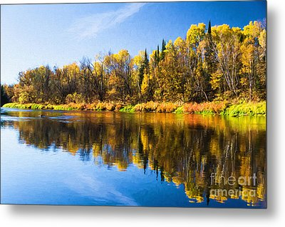 Beauty On The Big Fork Metal Print