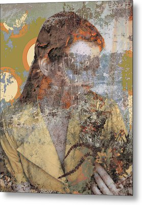 Beauty Rust And Forgetfulness Metal Print by Adam Kissel