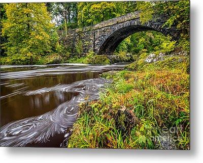 Beaver Bridge Metal Print by Adrian Evans