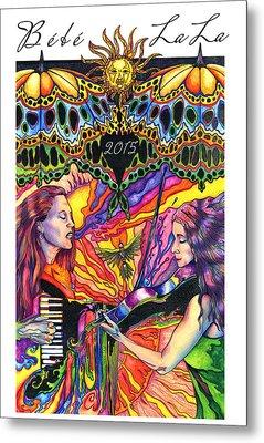 Bebe La La 2015 Metal Print by Kd Neeley