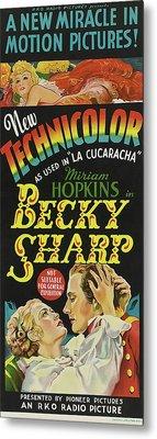 Becky Sharp 1935 Metal Print by R K O
