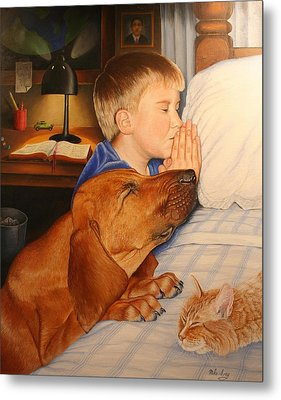 Bed Time Prayers Metal Print by Mike Ivey