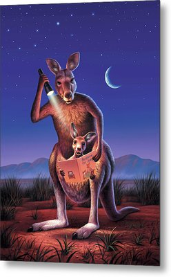 Bedtime For Joey Metal Print