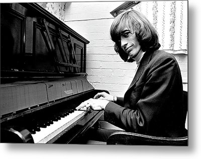 Bee Gees Robin Gibb 1969 Metal Print by Chris Walter