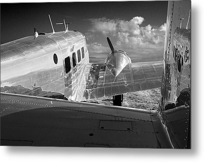 Beech Model 18 1959 Metal Print by Maxwell Amaro