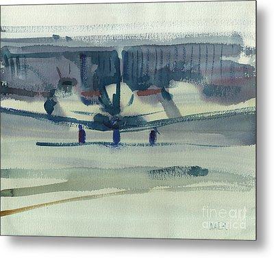 Beechcraft King Air Metal Print