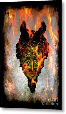 Metal Print featuring the photograph Beelzebub Iv by Al Bourassa