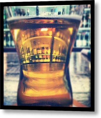 #beer #bar #bottles #irish #drinking Metal Print