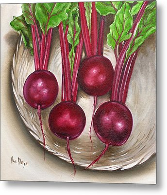 Beetroot Metal Print by Ilse Kleyn