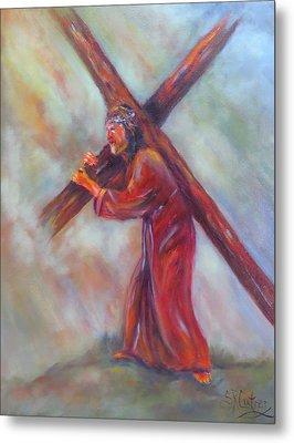 Jesus, Before The Darkest Hour, Metal Print