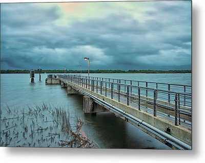 Before The Storm Metal Print by Donnie Smith