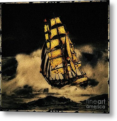 Before The Wind Metal Print