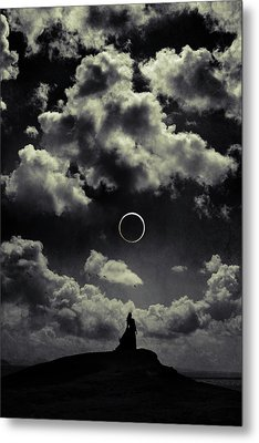 Beginning Of The End Metal Print by Cambion Art