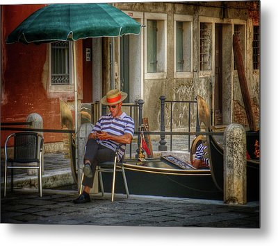 Behind The Scenes Metal Print by Connie Handscomb