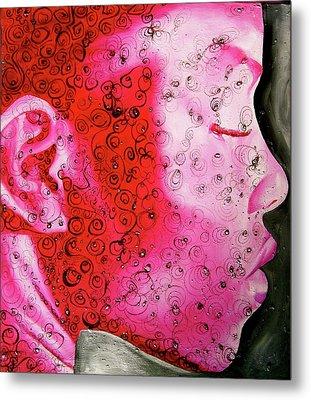 Bejeweled  Metal Print by Laura Pierre-Louis
