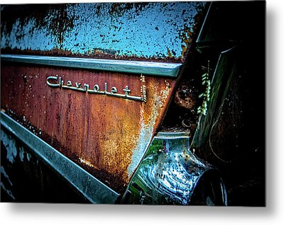 Bel Air Flair Metal Print