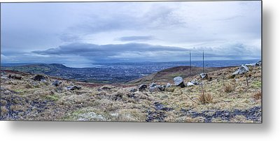 Belfast Lough From Divis Mountain Metal Print