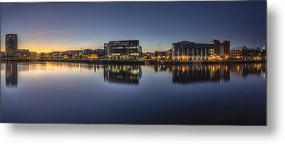 Belfast Near The Docks Metal Print