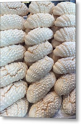 Belgium Meringues Metal Print by Evan N