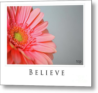 Metal Print featuring the photograph Believe by Traci Cottingham