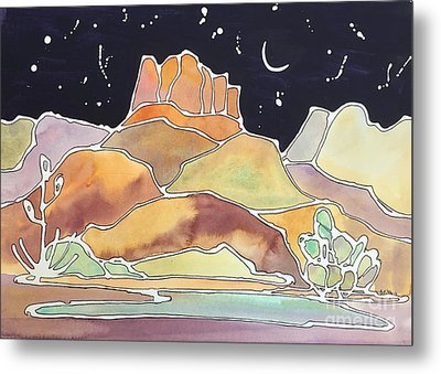 Bell Rock Metal Print by Barbara Tibbets