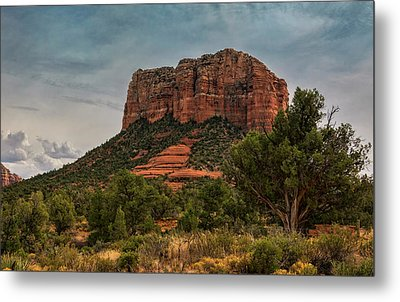 Metal Print featuring the photograph Courthouse Butte - Sedona  by Saija Lehtonen