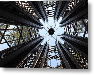 Bell Tower Metal Print by Nathan Grisham