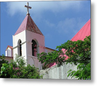 Bell Tower Metal Print by Richard Mansfield