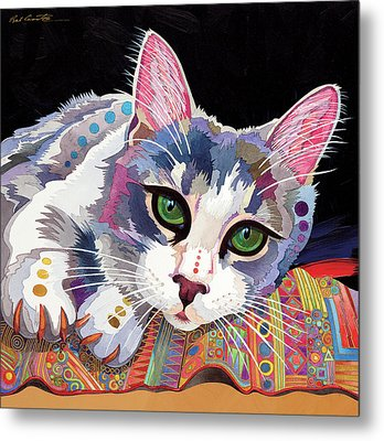 Bella Metal Print by Bob Coonts