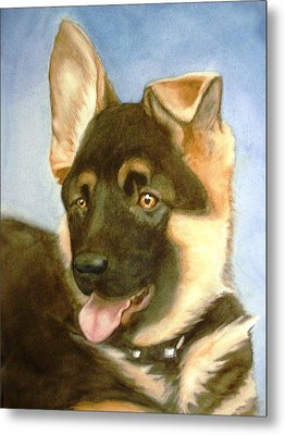 Metal Print featuring the painting Bella by Marilyn Jacobson