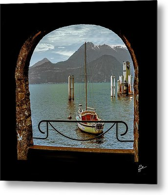 Bella Varenna - For Print Or Wrapped Canvas Metal Print