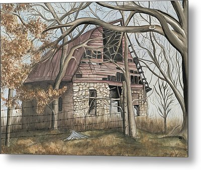 Bella Vista Barn Metal Print by Patty Vicknair