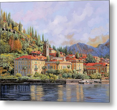 Bellagio Metal Print by Guido Borelli