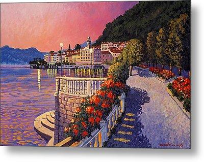 Bellagio Lake Como Metal Print by Santo De Vita