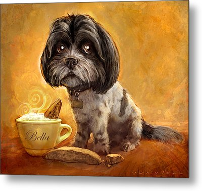 Bella's Biscotti Metal Print by Sean ODaniels
