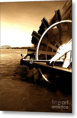 Belle Of Louisville Metal Print by Utopia Concepts