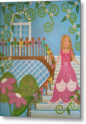 Belle Of The Ball Metal Print by Samantha Shirley