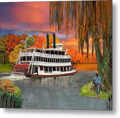 Belle Of The Bayou Metal Print by Glenn Holbrook