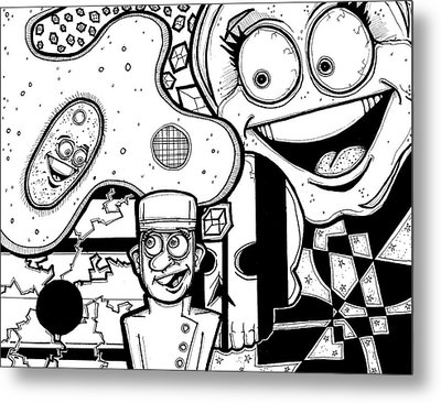 Bellhop Montage Metal Print by Christopher Capozzi