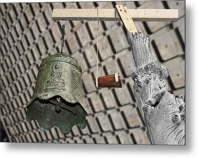 Bells Of The Orient Metal Print by Christine Till