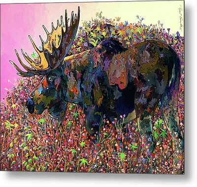 Metal Print featuring the painting Belly Deep by Bob Coonts