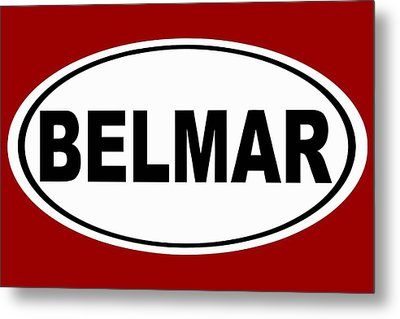 Metal Print featuring the photograph Belmar New Jersey Home Pride by Keith Webber Jr