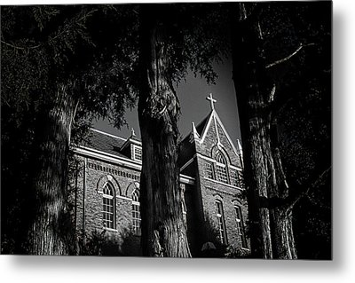 Metal Print featuring the photograph Belmont Abbey by Jessica Brawley