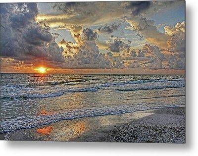 Beloved - Florida Sunset Metal Print