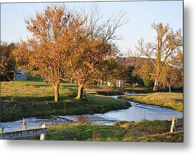Bending Creek Metal Print by Jan Amiss Photography