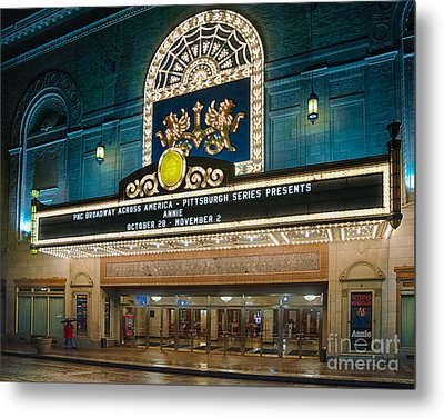 Benedum Center Metal Print by Amy Cicconi